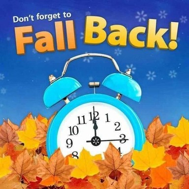 Time Change - Fall Back