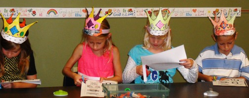 Sunday School - King David Crowns