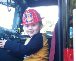 Driving the Fire Truck!